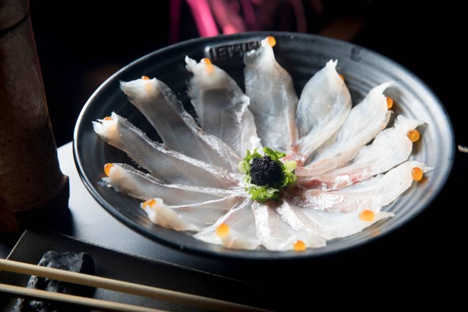 Ussusukuri de peixe branco