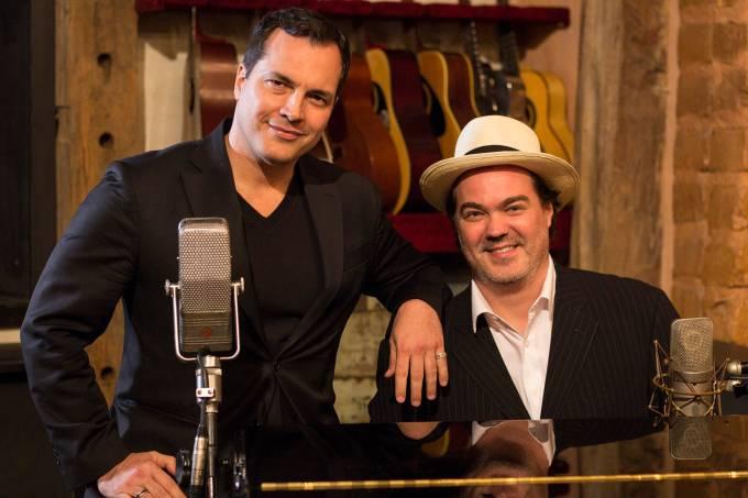 Daniel Boaventura e Daniel Jobim