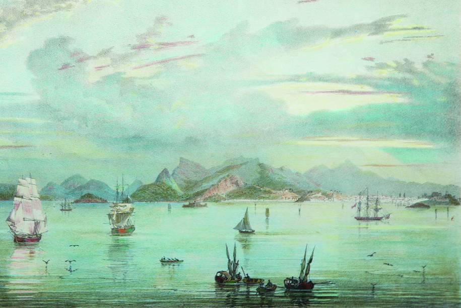 Vista do Rio de Janeiro Tomada da Barra