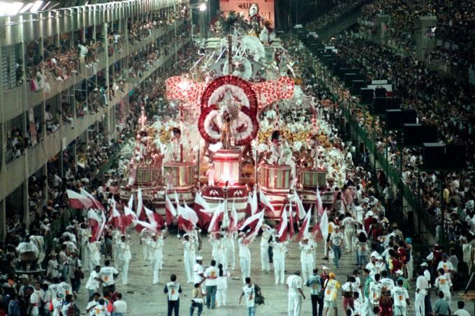 CARNAVAL 1993 – DESFILE – SALGUEIRO