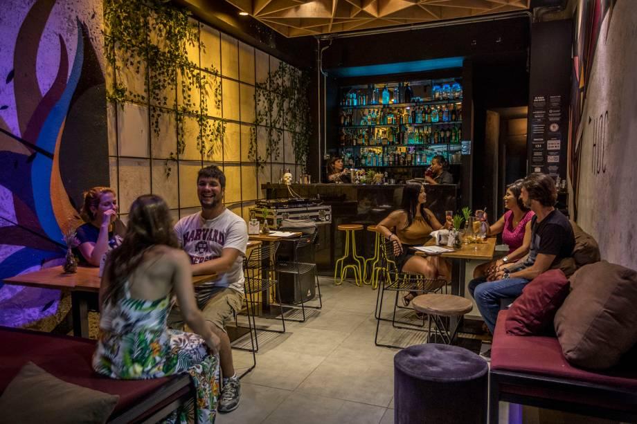 HOC Bar: ambiente arrumadinho e bons drinques
