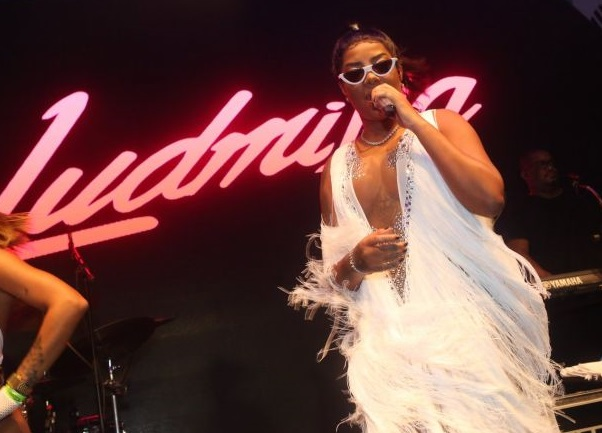 Ludmilla - show - Carnaval 2018 - camarote