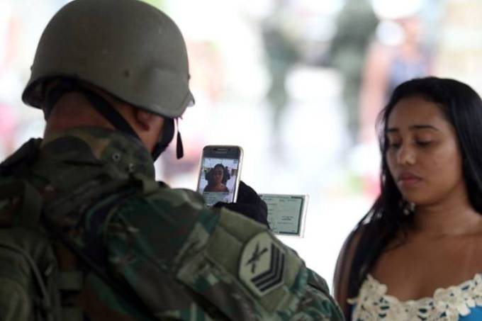 Militar Favela Exército