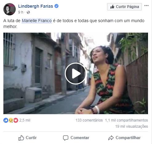 <span>Lindberg Farias, senador da República pelo PT</span>