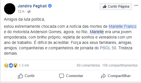 <span>Jandira Feghali, política</span>