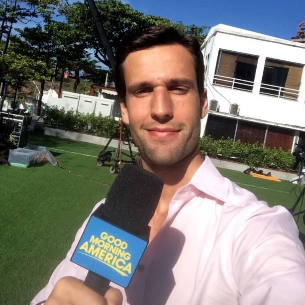 Workaholic: a carreira jornalística começou na internet e ele foi parar em grandes emissoras americanas: NBC e ABC