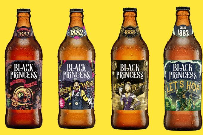CERVEJAS BLACK PRINCESS