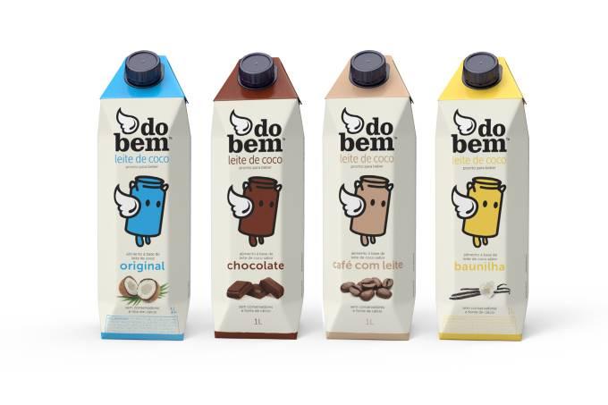 Do Bem leites vegetais