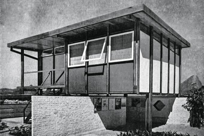 Imagem publicada na revista Módulo número 23, 1961 _Acervo Instituto Sergio Rodrigues