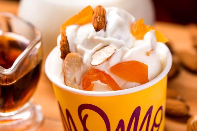 Momo Gelato; iogurte grego