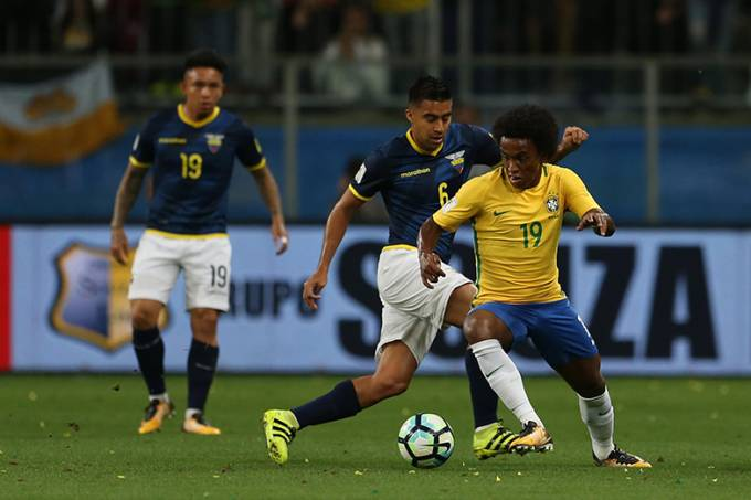 Porto Alegre (RS), 31/08/2017 – Seleção Brasileira. Arena do Grêmio. Brasil x Equador