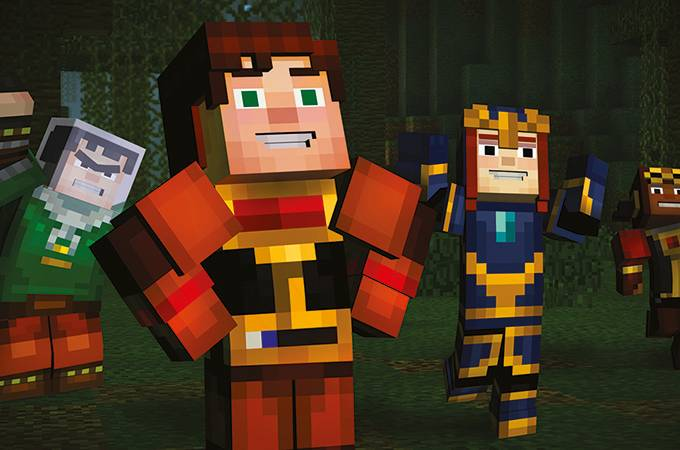 "Personagem do jogo ""Minecraft""."