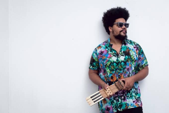 Amaro Freitas, pianista.