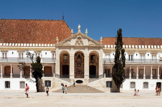 Portugal, Coimbra : the university
