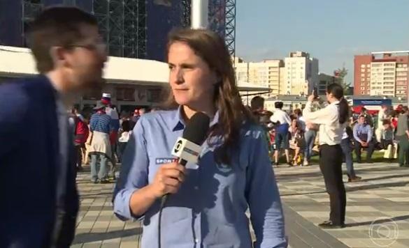assédio jornalista globo