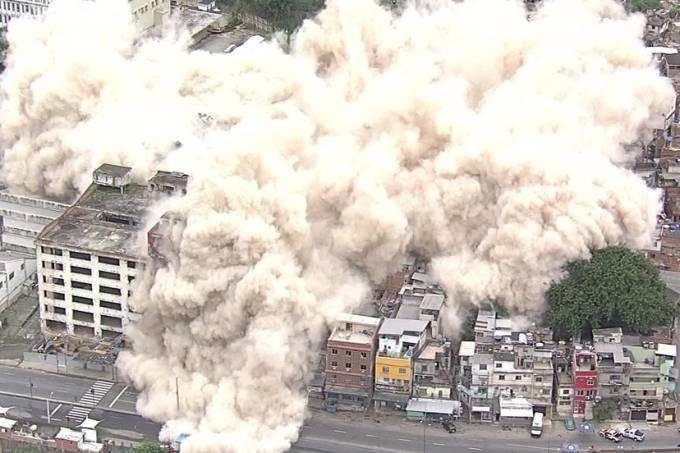 Implosão IBGE Mangueira