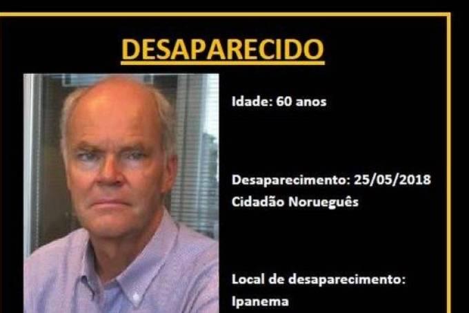 Norueguês desaparecido
