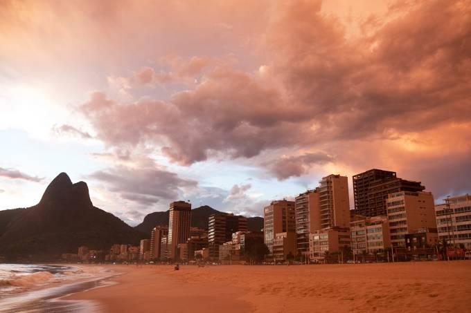 Rio de Janeiro. Leblon Beach.
