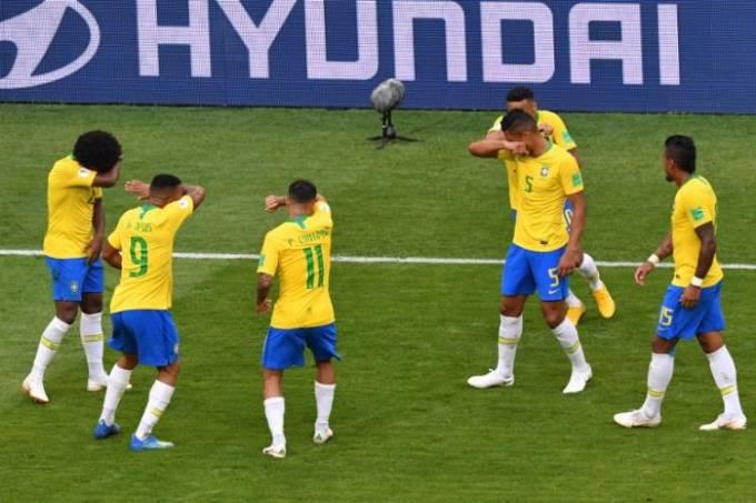 Comemoração Neymar