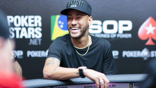 neymar pôquer
