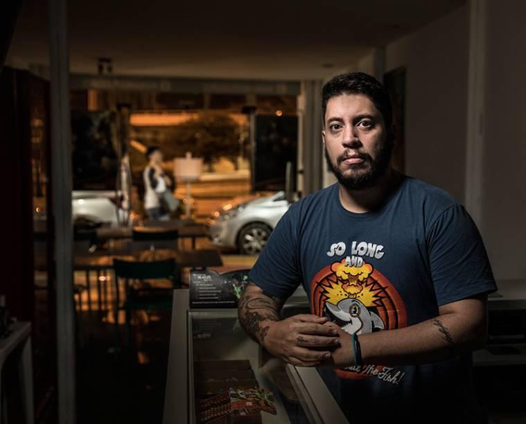 Marcelo Delgado, dono de uma loja na Barra: Justiça para reaver prejuízo de 20000 reais