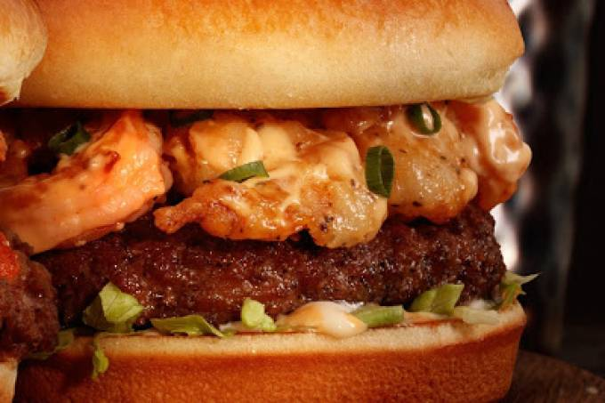 Firecracker Shrimp Burger – Outback