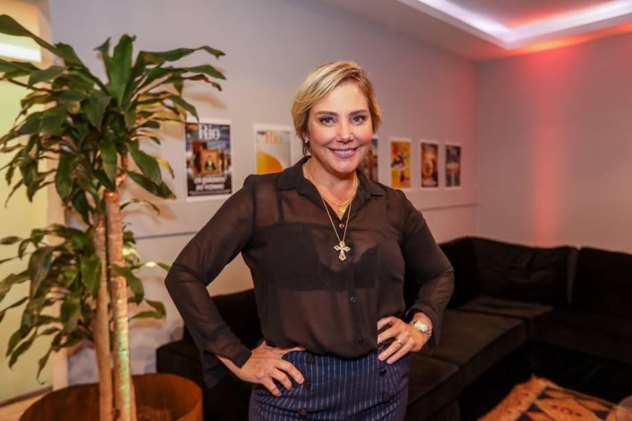 Depois de participar da live Veja Rio no facebook, a atriz Heloísa Périssé foi uma das atrações do Encontros
