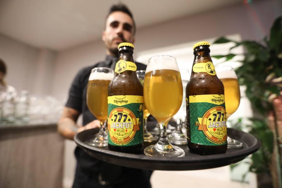 Douradas Jackpot, da cervejaria Blondine