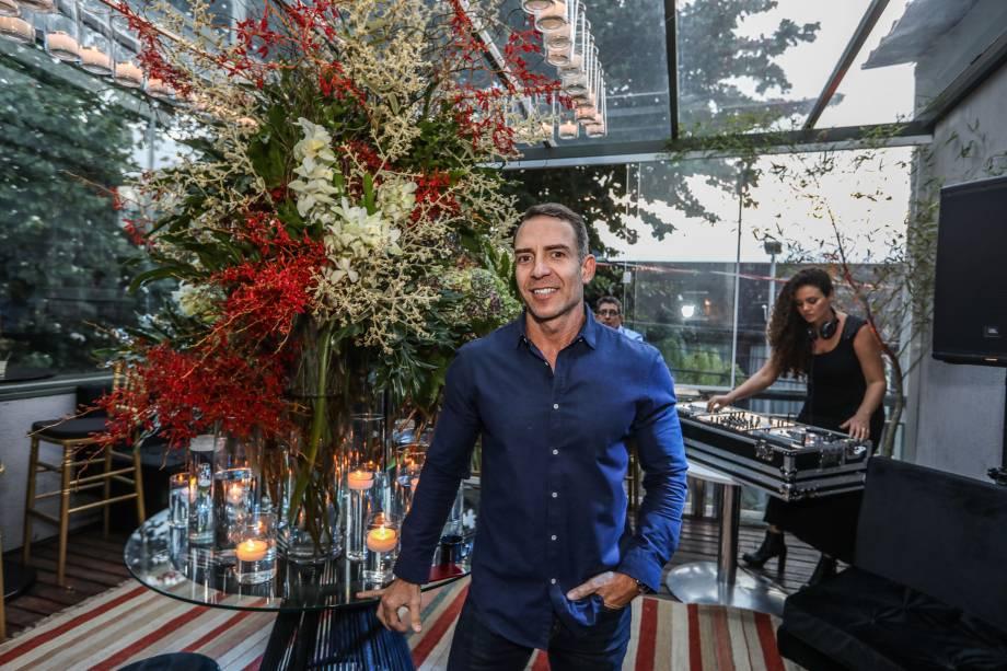 Leonardo Araújo: responsável pela decoração que contou com arranjos da Flor Arte