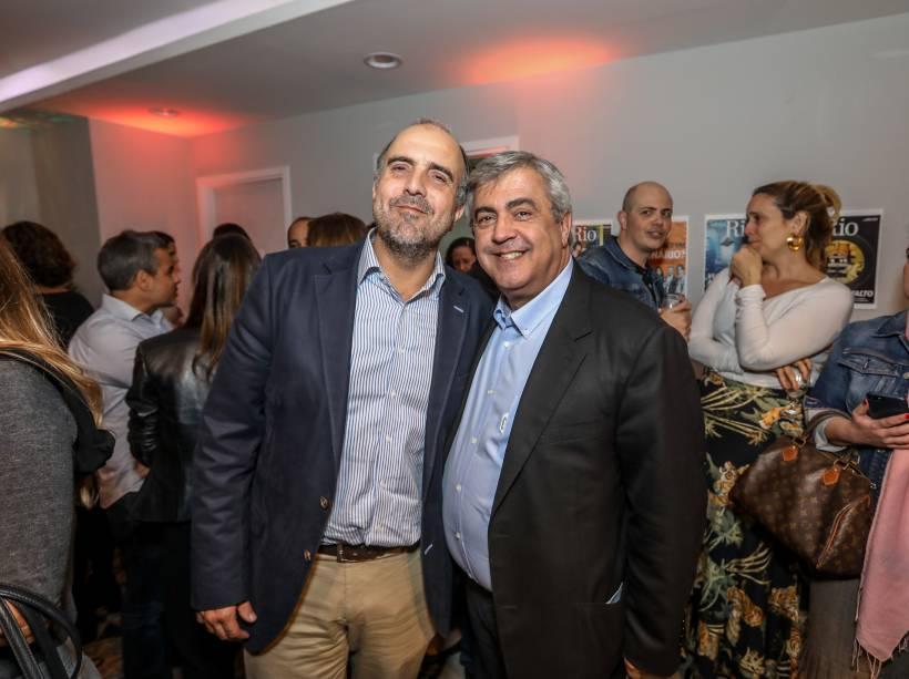 O advogado André Martins e o médico Gilberto Ururahy