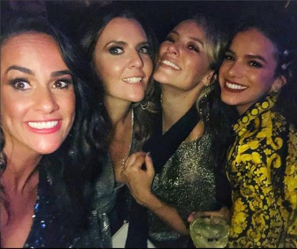 Francisca Pereira, Patrícia Davidson, Paolla Oliveira e Bruna Marquezine