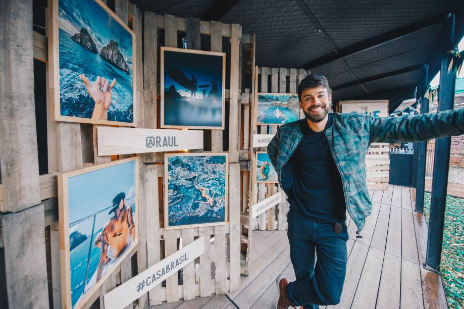 O fotógrafo Raul Aragão, autor dos cliques da mostra O Arquipélago Azul, sobre Fernando de Noronha