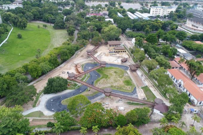 BioParque do Rio: área revitalizada