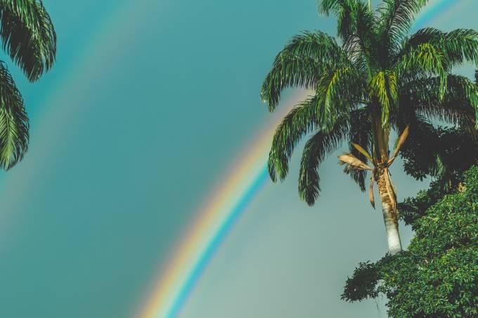 previsão de arco-íris
