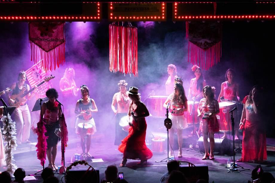 O bloco Mulheres vai comandar mais uma edição do Baile de Máscaras no Teatro Rival Refit