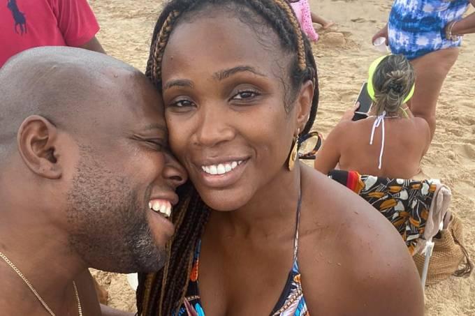 Érico Braz e Kenia Maria
