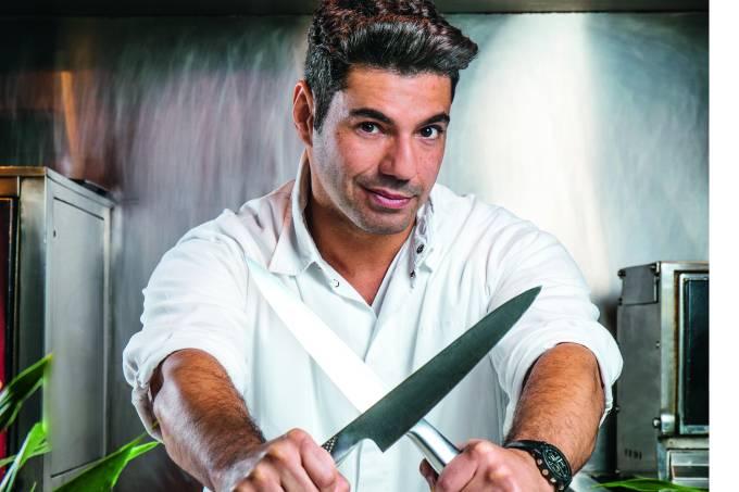 Felipe Bronze, chef do restaurante Oro.
