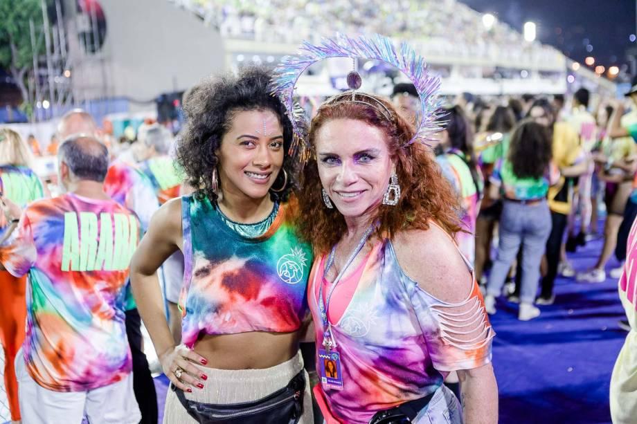As jornalistas Aline Midlej e Leilane Neubarth