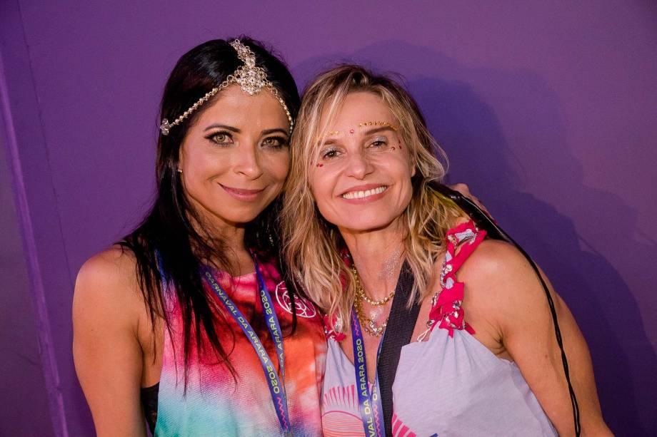 As atrizes Anna Lima e Paula Burlamaqui