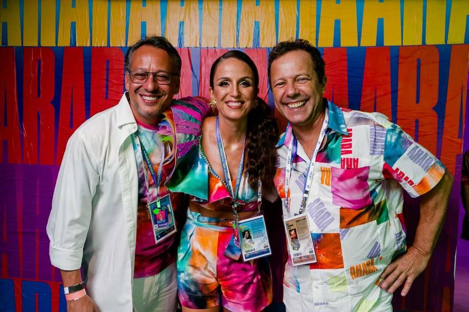 Antonio Pedro Figueira de Mello, Malu Barretto e Vik Muniz