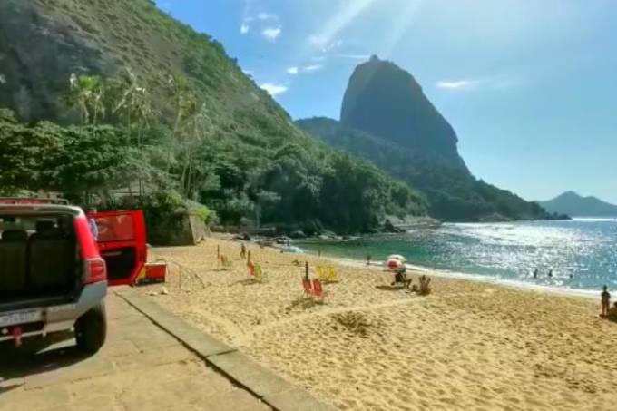 bombeiros praia vermelha