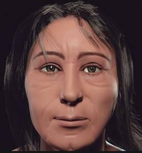 A reconstrução digital do homem que viveu em terras cariocas há cerca de dois mil anos