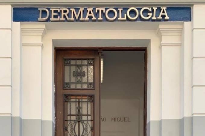 Coluna Daniela Alvarenga Santa Casa de Misericordia dermatologia