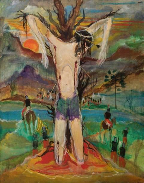 O martírio de São Sebastião – Guignard