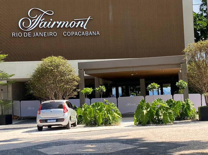 O Hotel Fairmont, recém-inaugurado em Copacabana