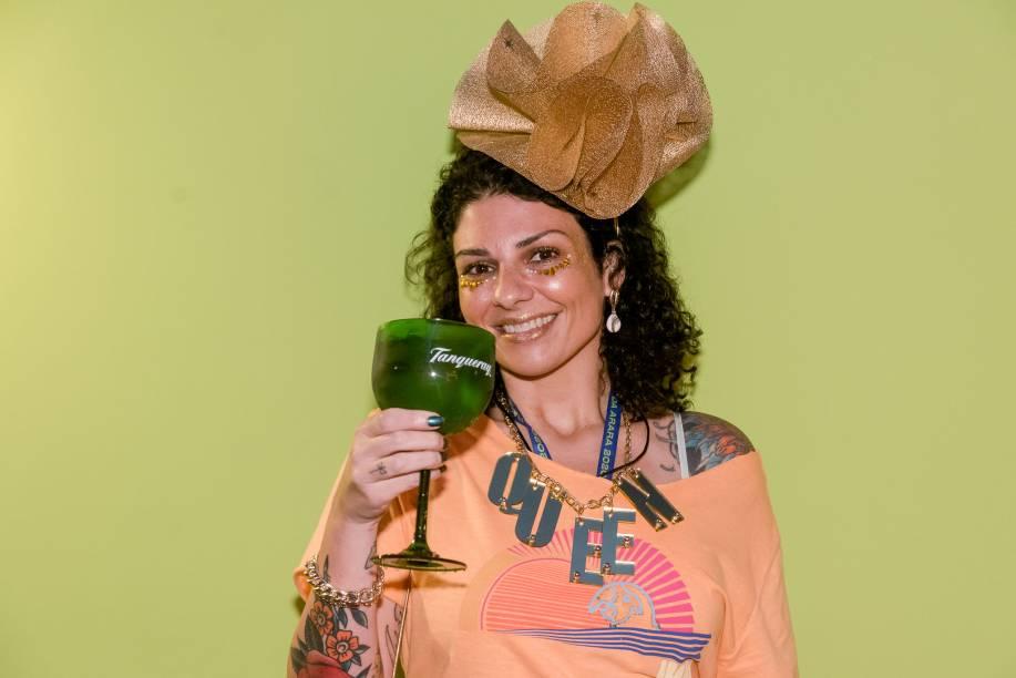 A cantora Julia Bosco