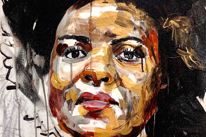 Retrato Panmela Castro