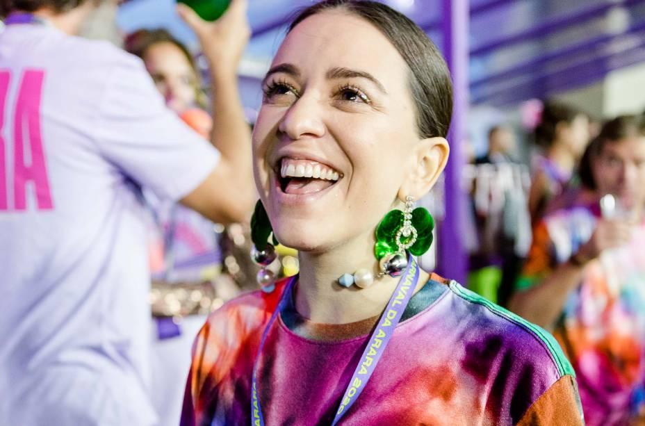 """A cantora Roberta Sáelogiou os enredos levados pelas escolas para a Avenida em 2020: """"Carnaval é resistência"""", frisou"""