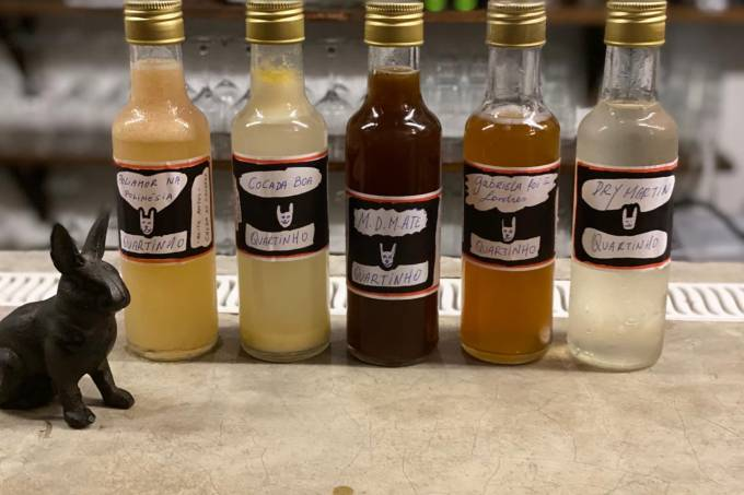 Quartinho – Drinques em garrafa de vidro(250 ml)