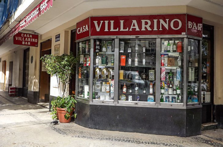 Casa Villarino - Perto do escritório de Garcia-Roza, era ali que ele traçava paillard de frango com arroz e feijão